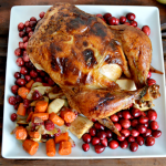 Apple Roasted Chicken So good! and simple perfect for thanksgiving!