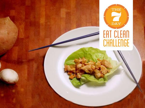 Lettuce Wraps YUM! challenge