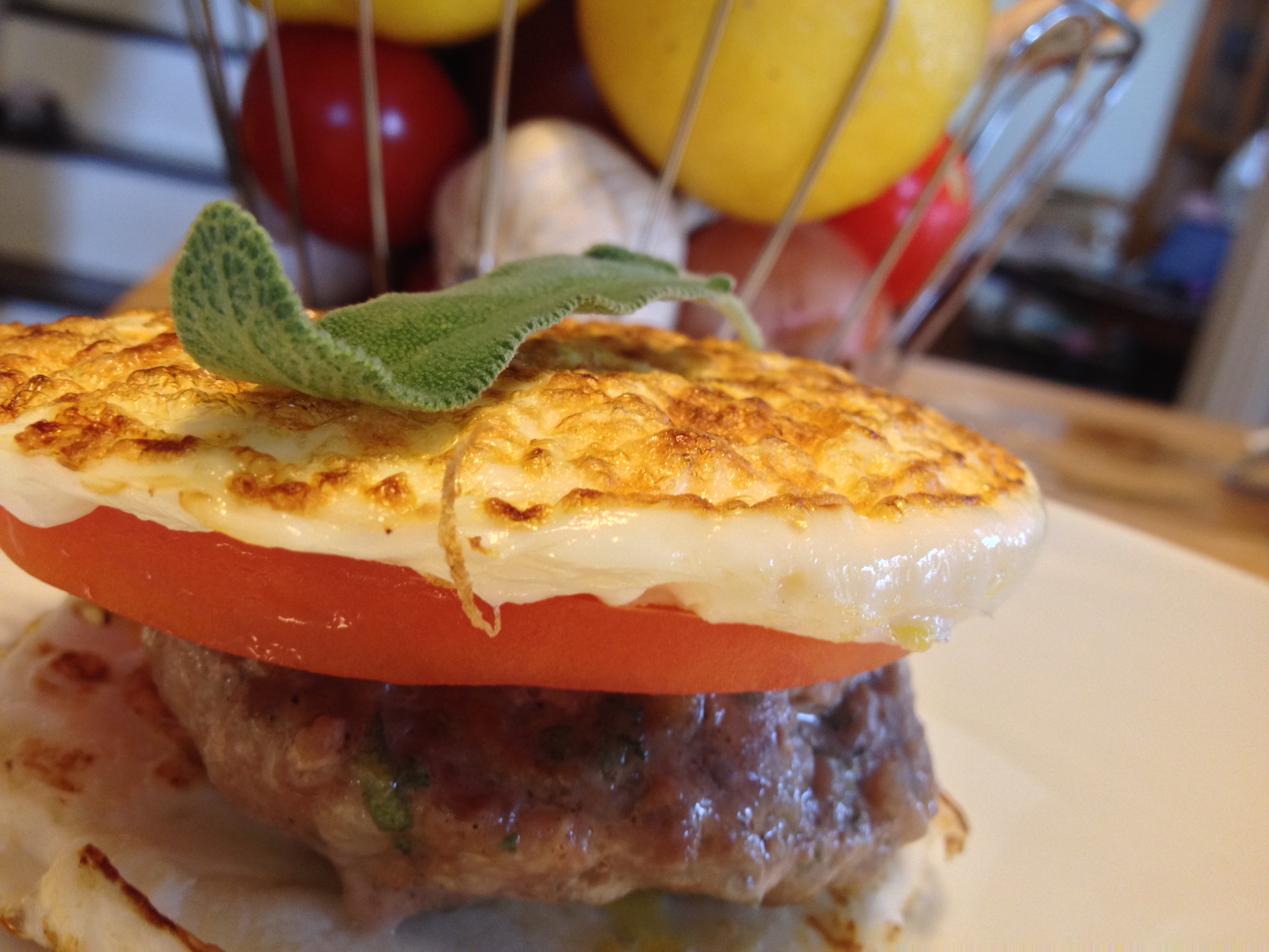 Paleo Breakfast Sausage Egg Sandwiches