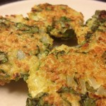 Spinach and Goat Cheese Quinoa Cakes by MyCleanKitchen.com