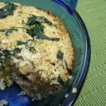 Spinach Quinoa Pie