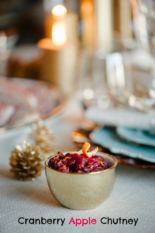 Clean Eating Cranberry Apple Chutney - Photo by Sera Petras