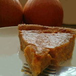 Clean Eating Pumpkin Pie and Pie Crust