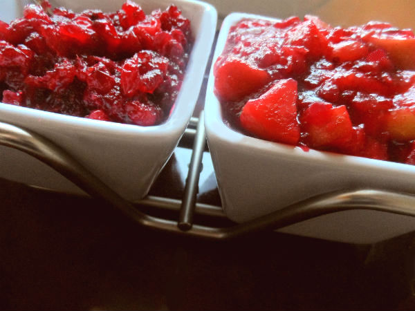 Cranberry Apple Chutney and Traditional Cranberry Sauce ...