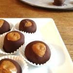 Almond Butter Buckeyes