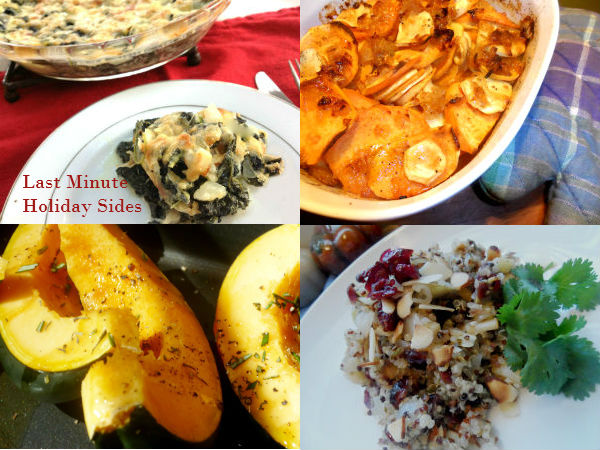 Last Minute Holiday Sides