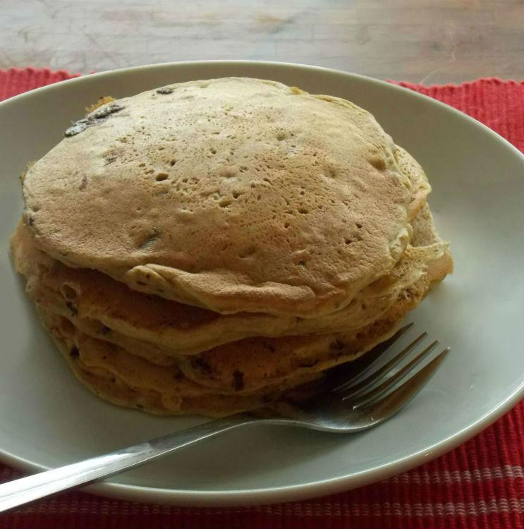 Whole Wheat Oatmeal Banana Pancakes   My Clean Kitchen