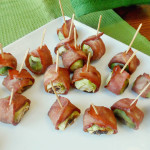 Turkey Bacon Wrapped Brussels Sprouts