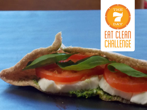 Whole Wheat Caprese Pitas