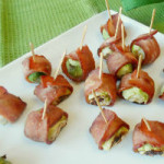 Bacon Wrapped Sprouts for Round Up
