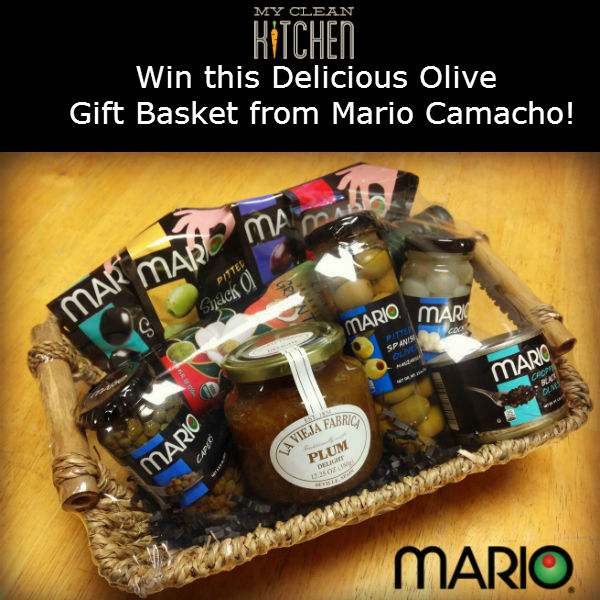 Giveaway Mario Camacho OLIVES from My Clean Kitchen!!!! YUMMY