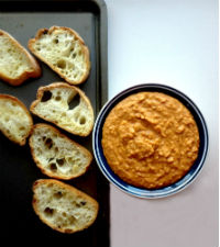 Spicy Chipotle Bean Dip for Round Up