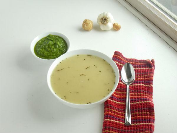 Sunchoke Soup!!!