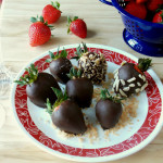 Delish-Chocolate Covered Strawberries I love Clean Eating with My Clean Kitchen