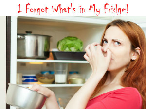 OMG I forgot whats in my fridge!