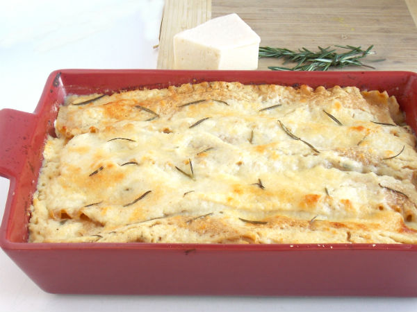 Rosemary Chicken Lasagna WOW