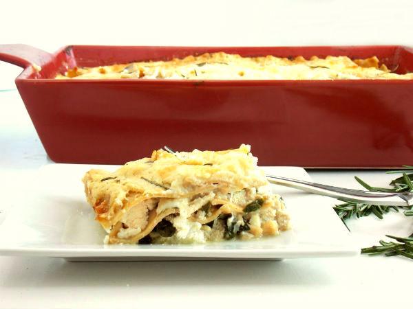 Rosemary Chicken Lasagna!!!