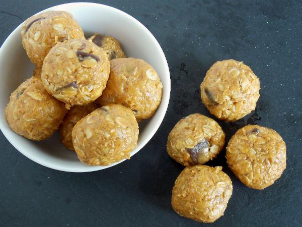 Almond Butter Protien Balls Yum!!!