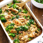 Chicken Quinoa Broccoli Casserole