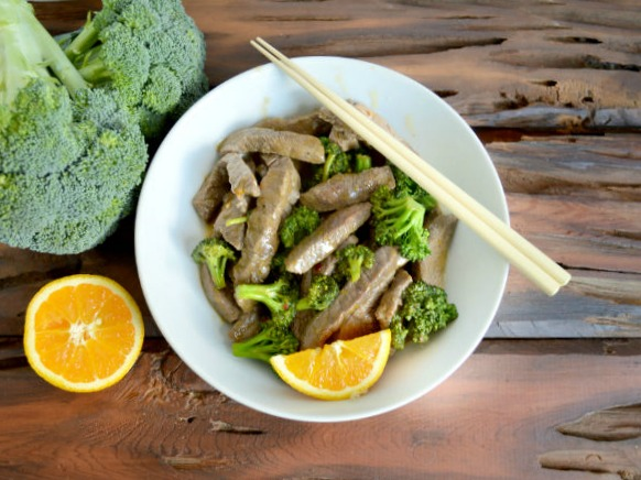 Orange Beef and Broccoli mmmmm So delicious!!
