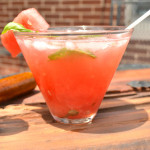 Watermelon Basil Summer Cocktail!! So tasty