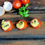 Baked Tomato and Egg Cup Yummy! and Paleo!