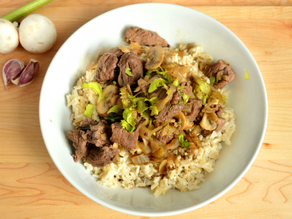 Clean Beef Tips and Mushrooms Simple and Delicious!