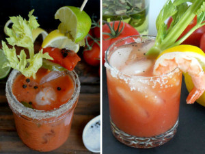 Fresh Bloody Mary Yum!!!