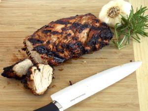 Mustard Marinaded Pork Tenderloin Yum!!!