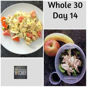 Whole 30 Day 14!!!