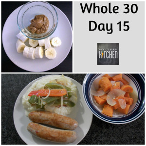 Whole 30 Day 15!!!