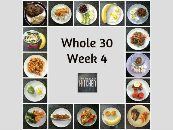 Whole 30 Week 4 - My Clean Kitchen