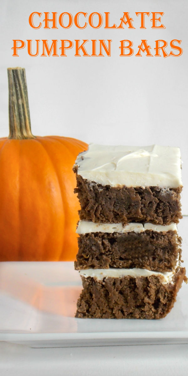 Chocolate Pumpkin Bars My Clean Kitchen