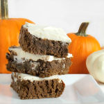 Chocolate Pumpkin Bars Yum!!!