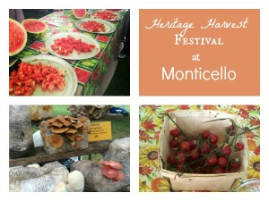 Heritage Harvest Festival at Monitcello