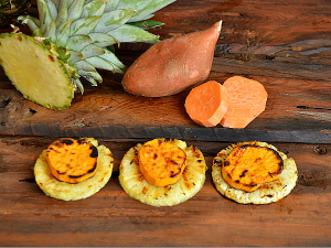 MCK Grilled Sweet Potato and Pineapple Whole30 Goodness