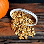 Toasted Punpkin Seeds So simple and delish