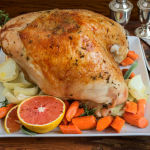 Orange & Herb Brined Turkey Breast