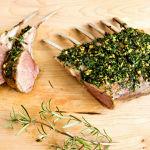 Herb Roasted Rack of Lamb