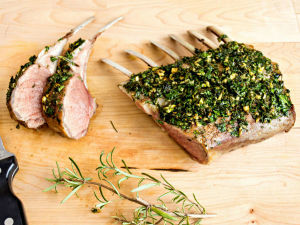 Herb Marinated Rack of Lamb - Perfect for the Holiday Table