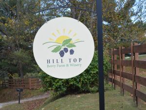 Hill Top Sign