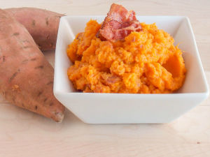 Mashed Sweet Potatoes!!!