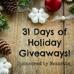 Holiday Giveaway – Mazzetta Memories – 31 Days of Giveaways