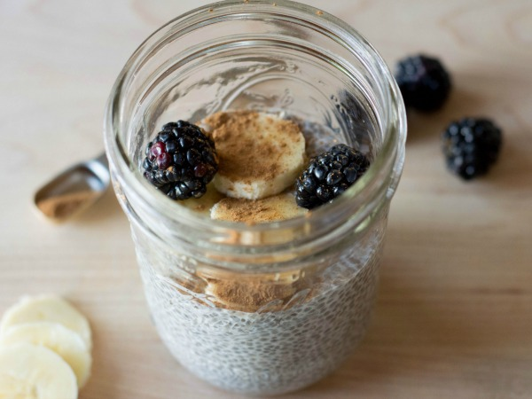 Cinnamon Banana Chia Seed Pudding