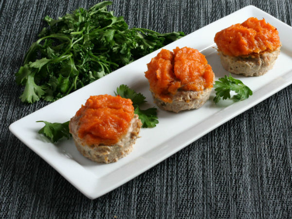 Mini Turkey Sweet Potato Meatloaves!!!