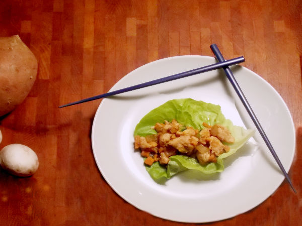 Lettuce Wraps YUM!