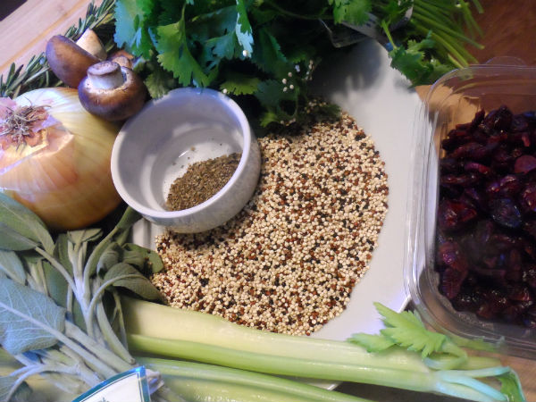 Quinoa Stuff Ingredients