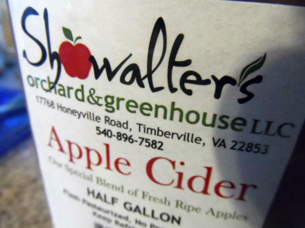 local apple cider