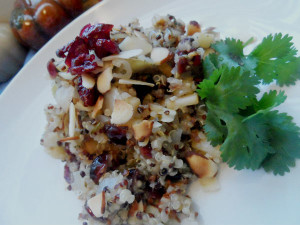 Awesome Quinoa Apple Onion Stuffing