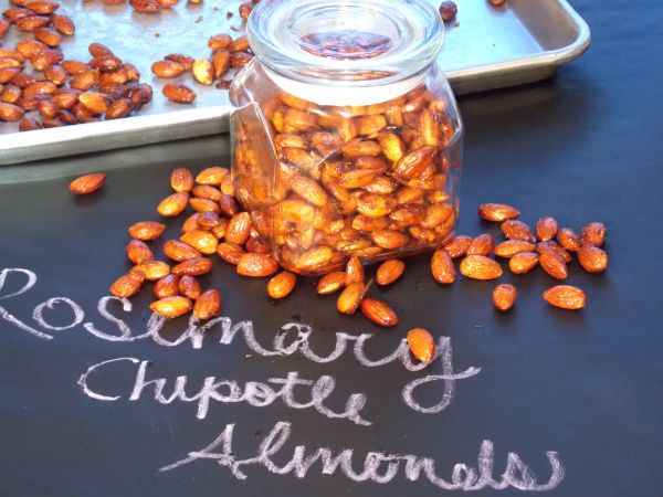 Rosemary Chipotle Almonds Holiday Gift